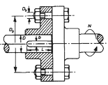 Solid Bolted Shaft Coupling Design Equations and Calculator