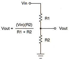 Voltage Divider for 5% Resistors Calculator Excel Spreadsheet